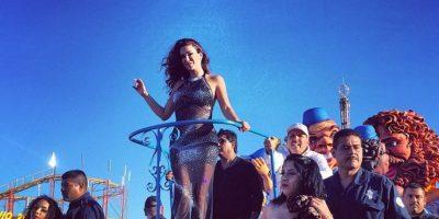 FOTO: Ninel Conde fue agredida durante su participación en un carnaval