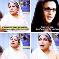 Esto incluye el matrimonio, que es un acontecimiento importante para el indio. Aquel que no siga las directrices de la familia puede deshonrarse no solo a sí mismo sino también a su familia. Foto:Tumblr