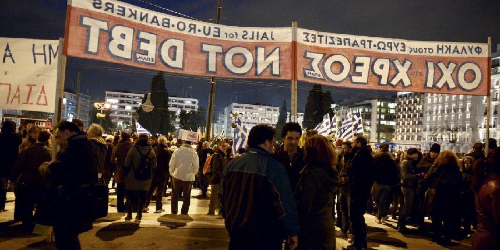4. La petición es un intento del nuevo Gobierno de tener una línea financiera y evitar las condiciones de austeridad del Fondo Monetario y de la Unión Europea. Foto:AFP