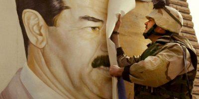 2003: La invasidón de Estados Unidos y la Coalición Internacional a Irak comienza el 20 de marzo de 2003. Foto:Getty Images