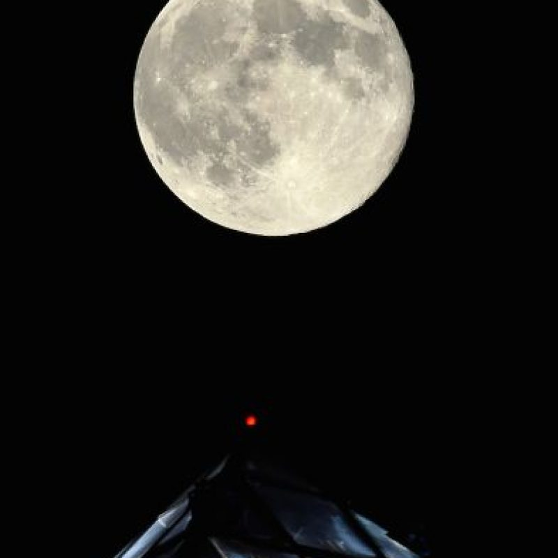 5. Esto ha causado debate entre los científicos para llamarla Superluna, reseñó The Huffington Post. Foto: Getty