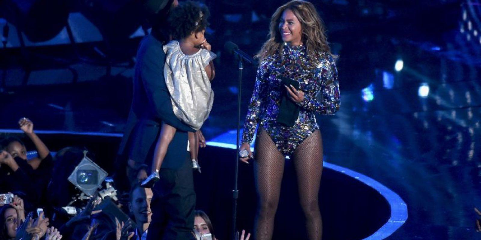 """Mantuvieron su relación en secreto, pero la química de la pareja era clara para todo aquel que hubiera visto su actuación juntos en los MTV Video Music Awards de 2003 interpretando su simple """"Crazy In Love"""" Foto:Getty Images"""