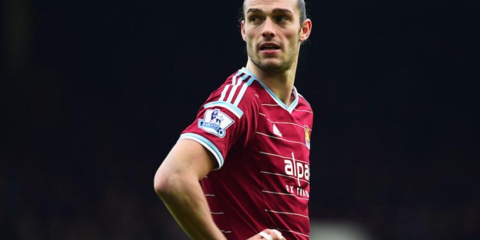 Andy Carroll juega en el West Ham de la Premier League inglesa. Foto:Getty Images