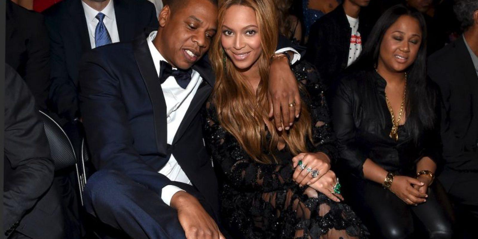 """¡Jay Z celebró el nacimiento de su hija incluyéndola en una de sus canciones! Blue se transformó en la persona más joven en aparecer en el ranking Billboard estadounidense cuando el sonido de su llanto apareció al final de la canción """"Glory"""" del rapero, en la que habla sobre ser padre Foto:Getty Images"""