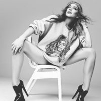 Lindsay Lohan posó para el fotógrafo Rankin Foto:Hungertv.com/Rankin