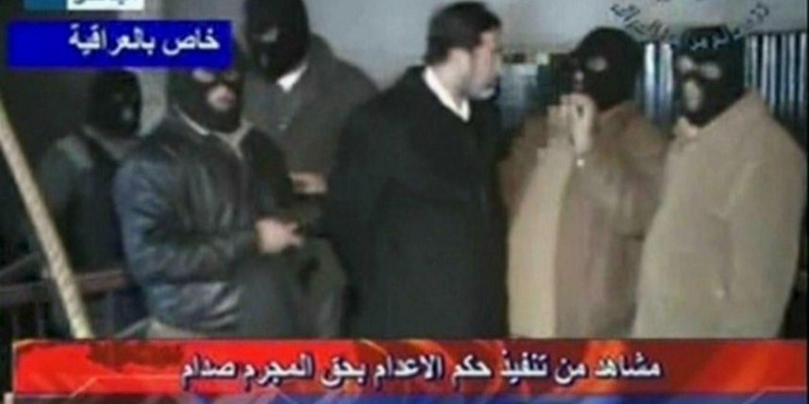 30 de diciembre de 2006: Hussein es ejecutado Foto:Getty Images