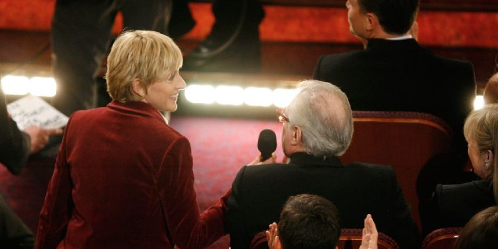 Ellen DeGeneres y Martin Scorsese. Foto:Getty Images