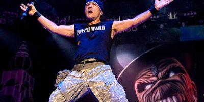 Bruce Dickinson, cantante de Iron Maiden, tiene cáncer de lengua