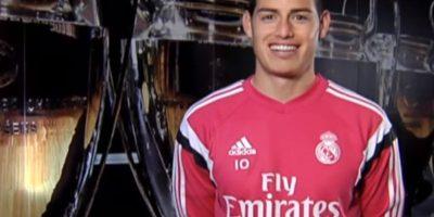 James Rodríguez, futbolista colombiano del Real Madrid. Foto:Real Madrid
