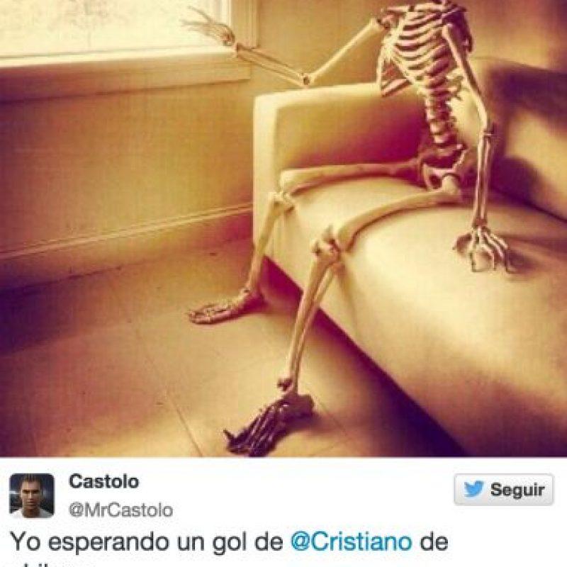 El luso falló una chilena y los usuarios de las redes sociales no lo perdonaron