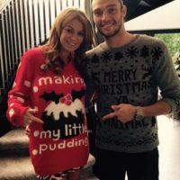 Mucklow y Carroll esperan un niño. Foto:instagram.com/andytcarroll