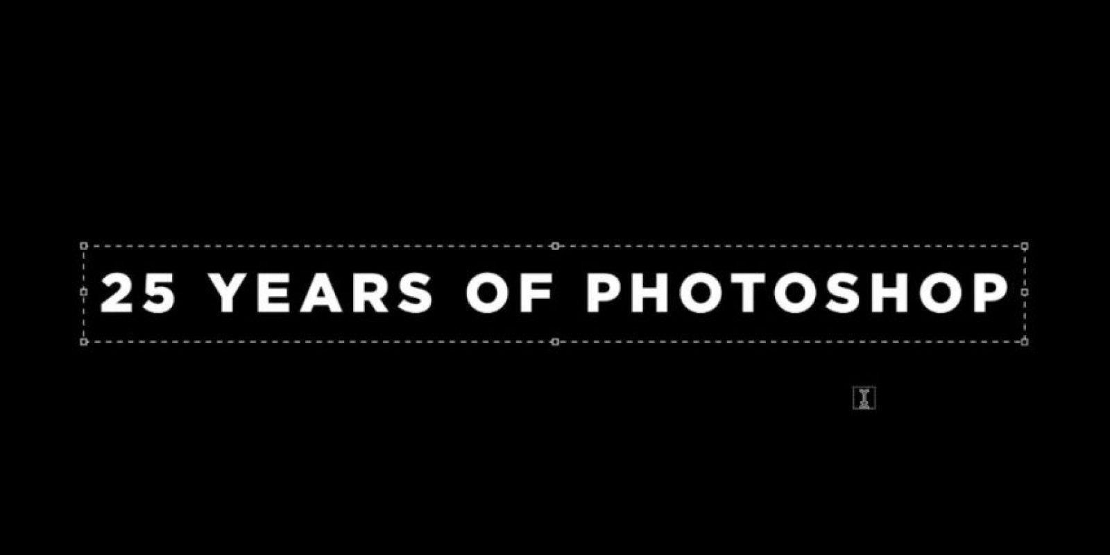 La primera versión de Photoshop salió a la luz el 19 de febrero de 1990. Foto:Adobe