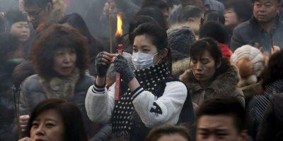 La fiesta anual reunió a miles de ciudadanos chinos. Foto:AP