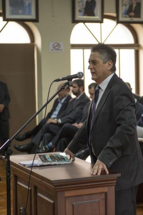 Axel Carrillo, abogado de Rosa María Montenergo. Foto:Oliver de Ros
