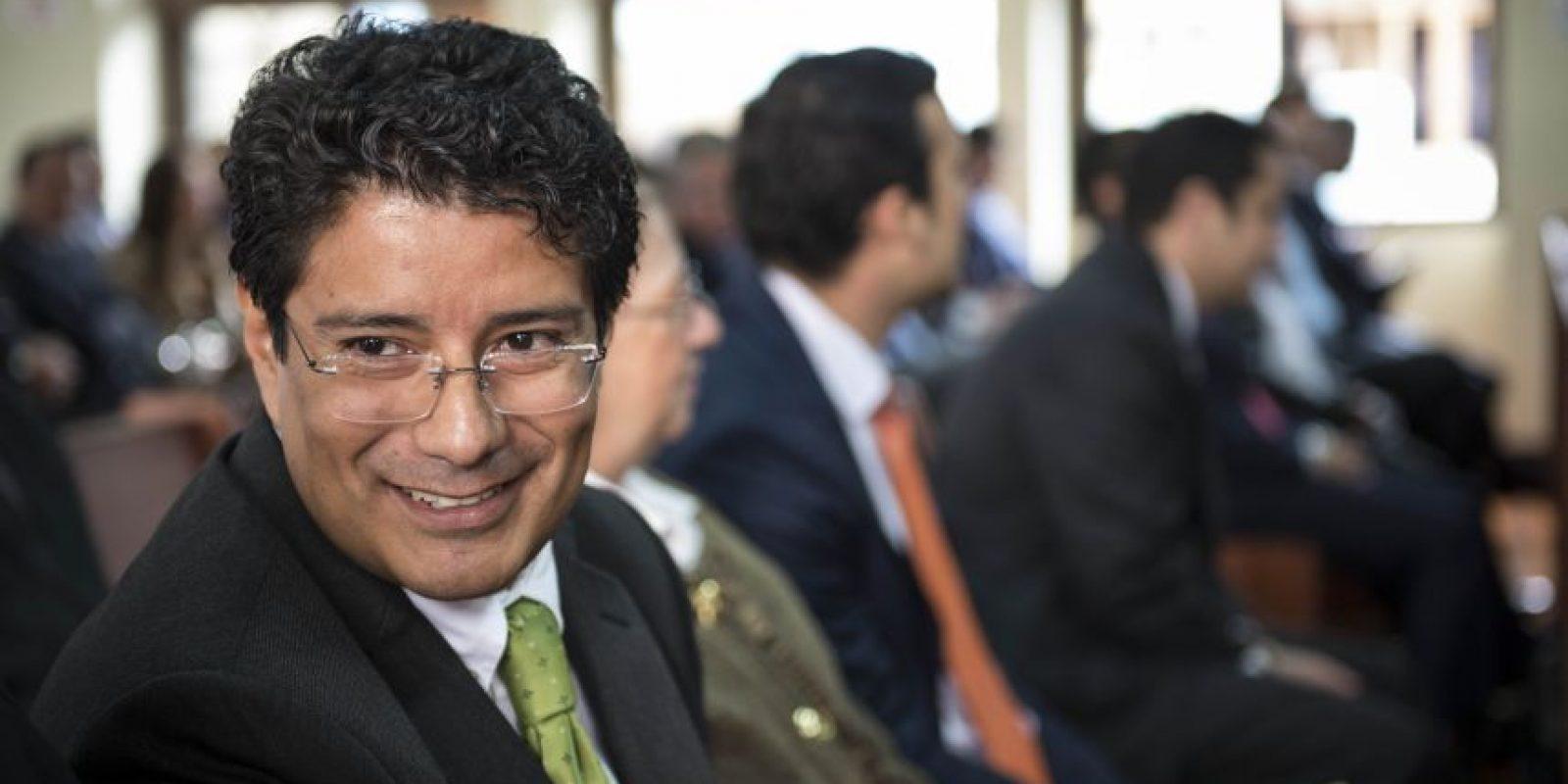 Carlos Barreda, diputado de la UNE. Foto:Oliver de Ros