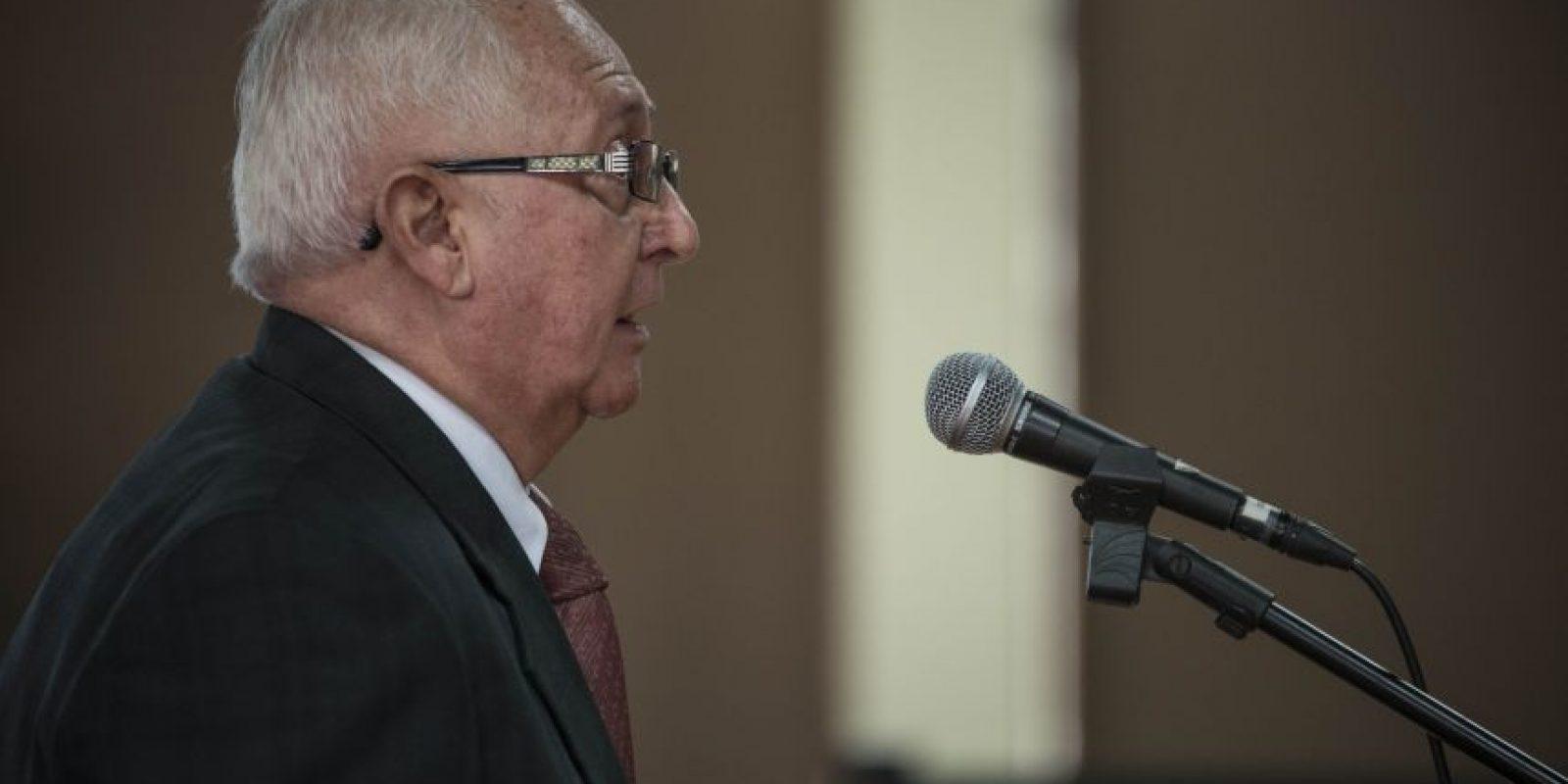 Gerardo Alberto Rodas, de la SAT. Foto:Oliver de Ros