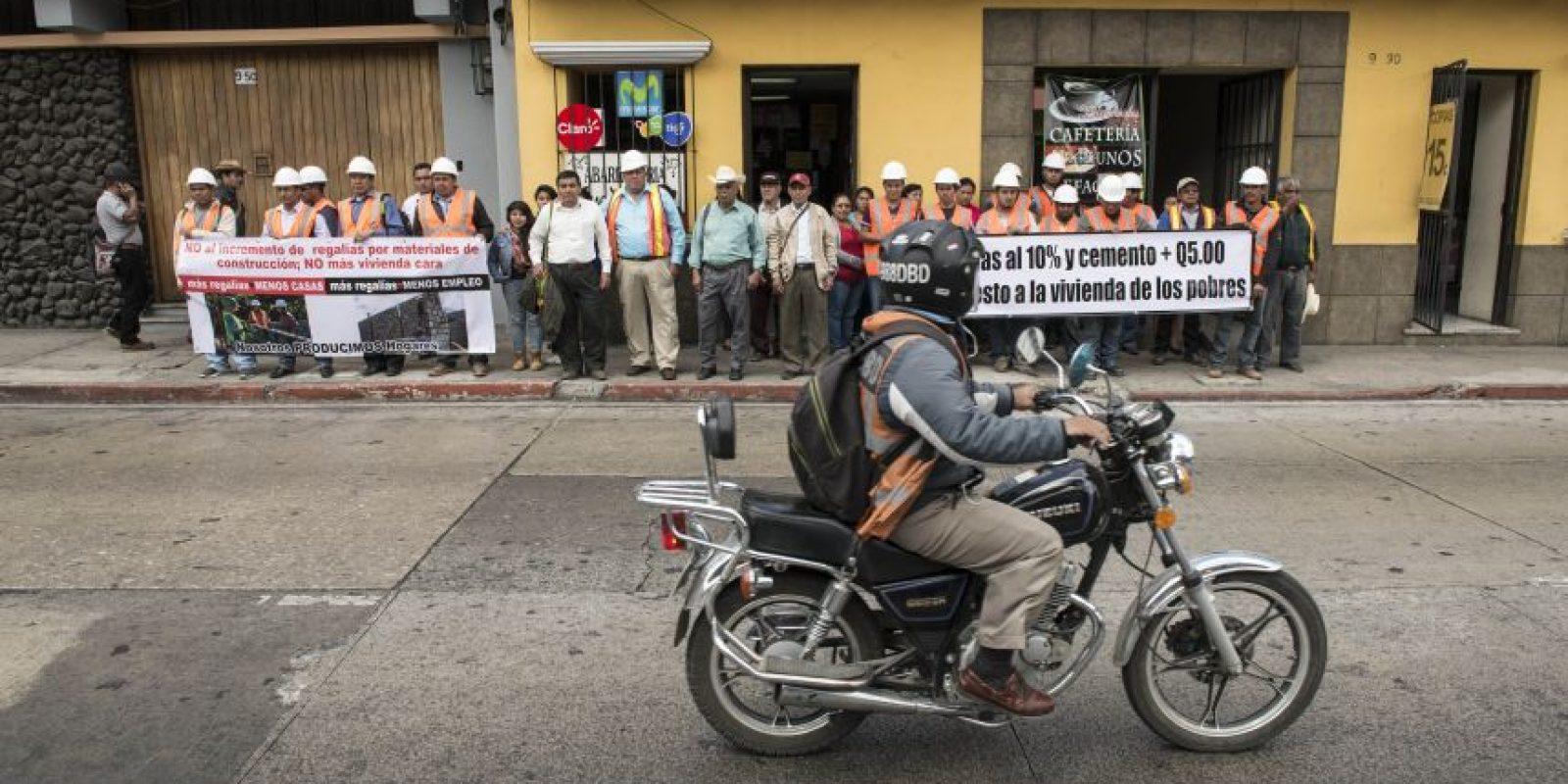 Protesta. Foto:Oliver de Ros