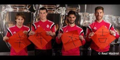 VIDEO. Jugadores del Real Madrid saludan en mandarín