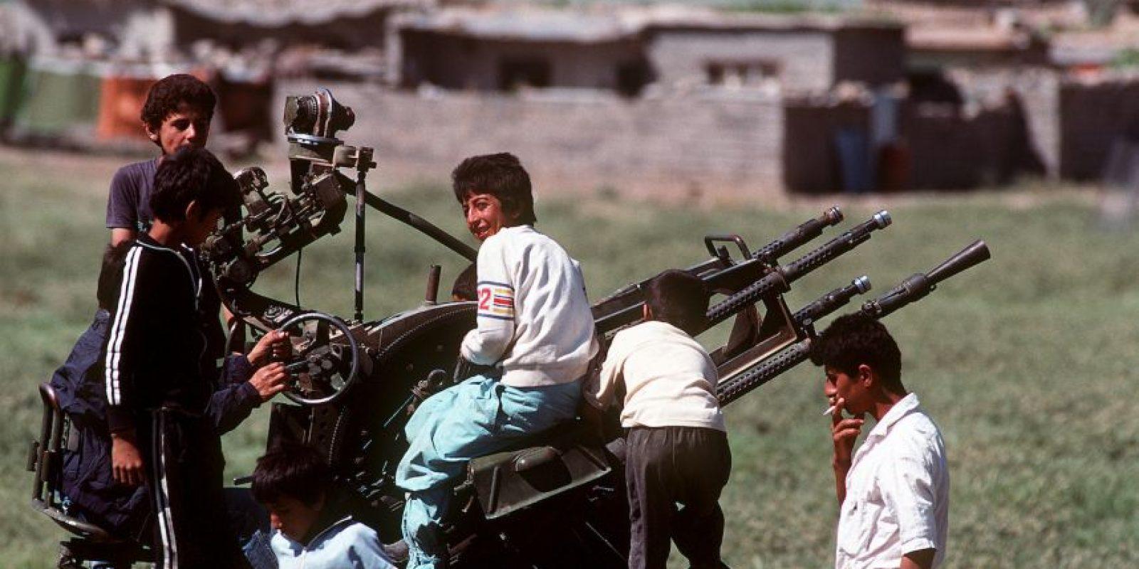 """1991: Comienza la Operación """"Tormenta del Desierto"""", para usar la fuerza militar estadounidense en Irak Foto:Wikipedia"""