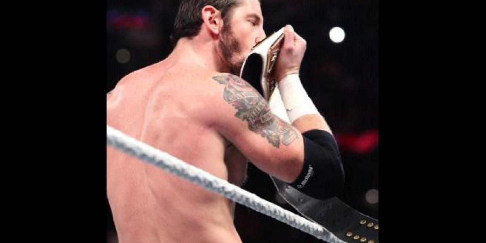 Lo retó a un duelo en Wrestlemania Foto:WWE