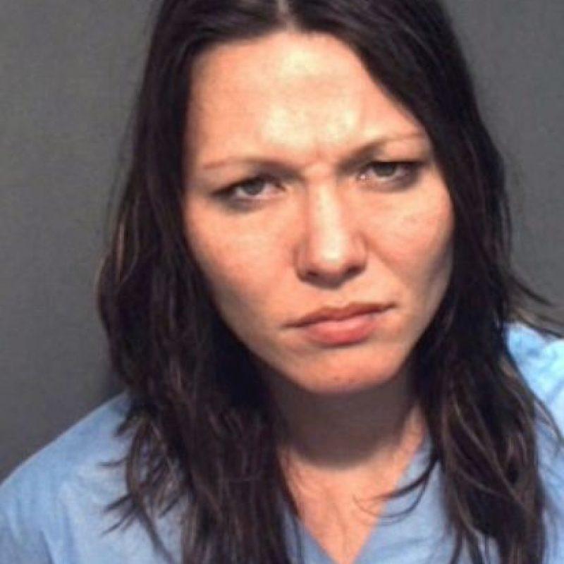 Amie Carter, acusada de exponer sus genitales y conducta criminal en Florida, Estados Unidos. Foto:Vía Orange County Jail
