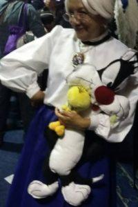 Otro personaje popular, la Abuela de los Looney Tunes. Foto:Rosy Durán/Facebook