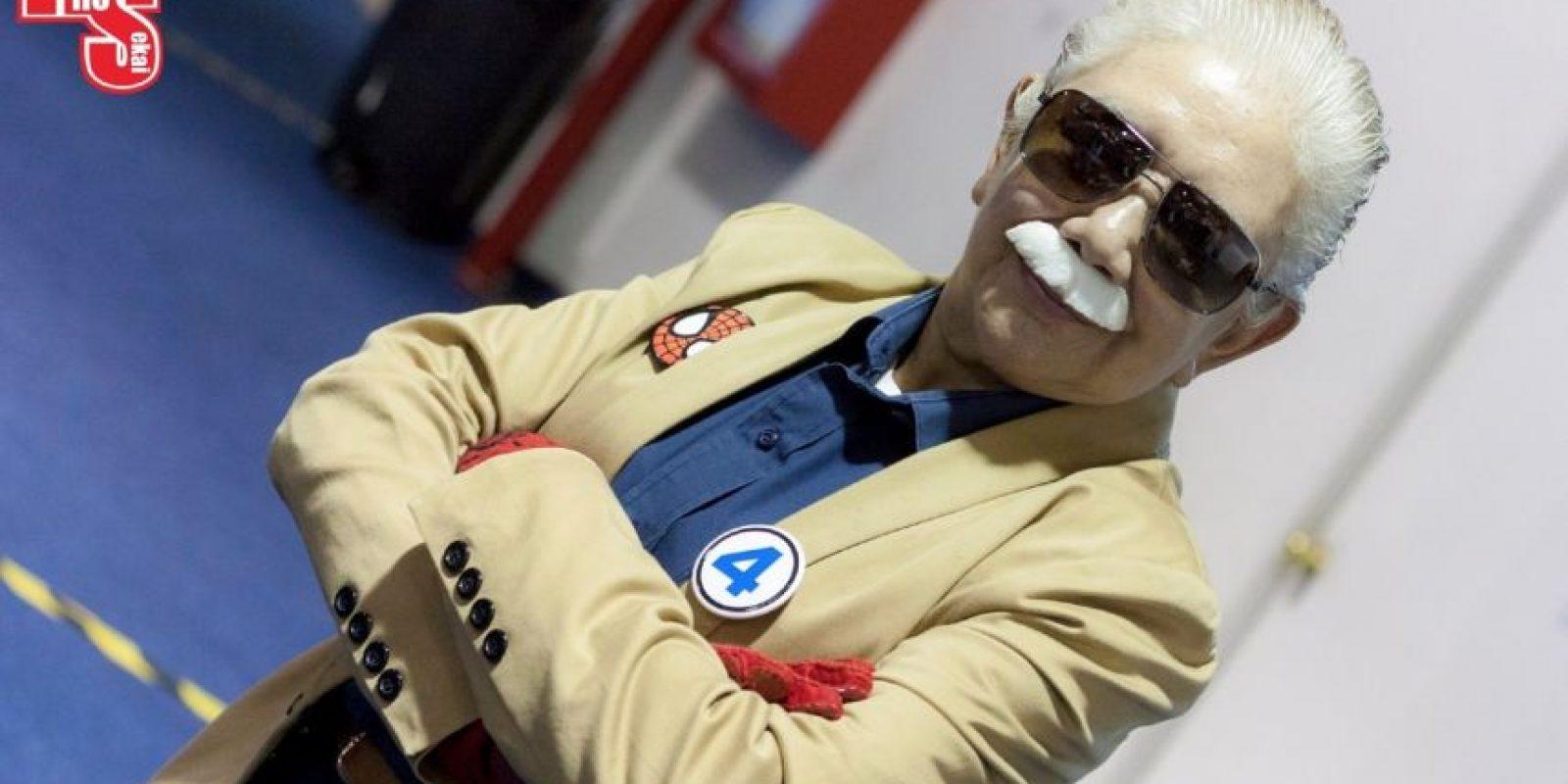Es Stan Lee. Pero también Rosy Durán. Foto:Rosy Durán/Facebook