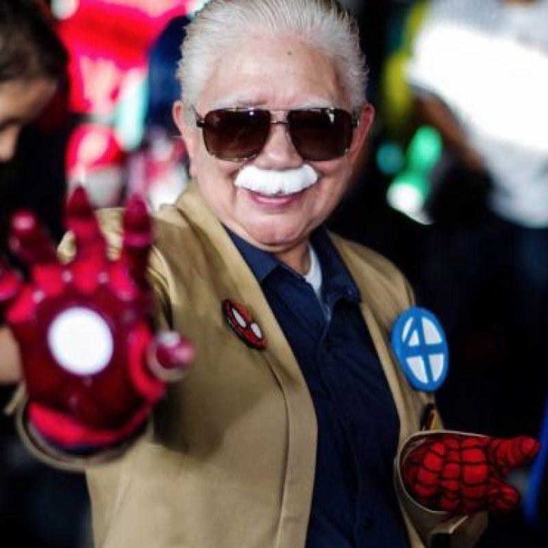 Es mexicana y es la mujer con más edad en hacer Cosplay en Latinoamérica. Foto:Rosy Durán/Facebook
