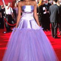 Tyra Banks iba a sus 15. No a los Óscar. Foto:Getty Images