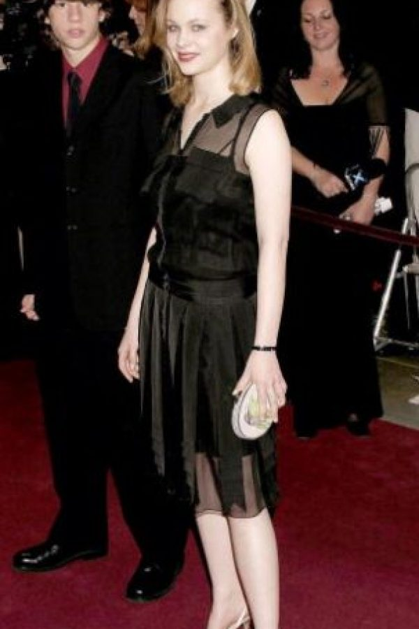 """Thora Birch se veía bonita en """"Belleza Americana"""". Y ya. Foto:Getty Images"""