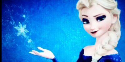 """Elsa de """"Frozen"""" Foto:Vine"""
