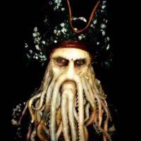 "Davy Jones de ""Piratas del Caribe"" Foto:Vine"