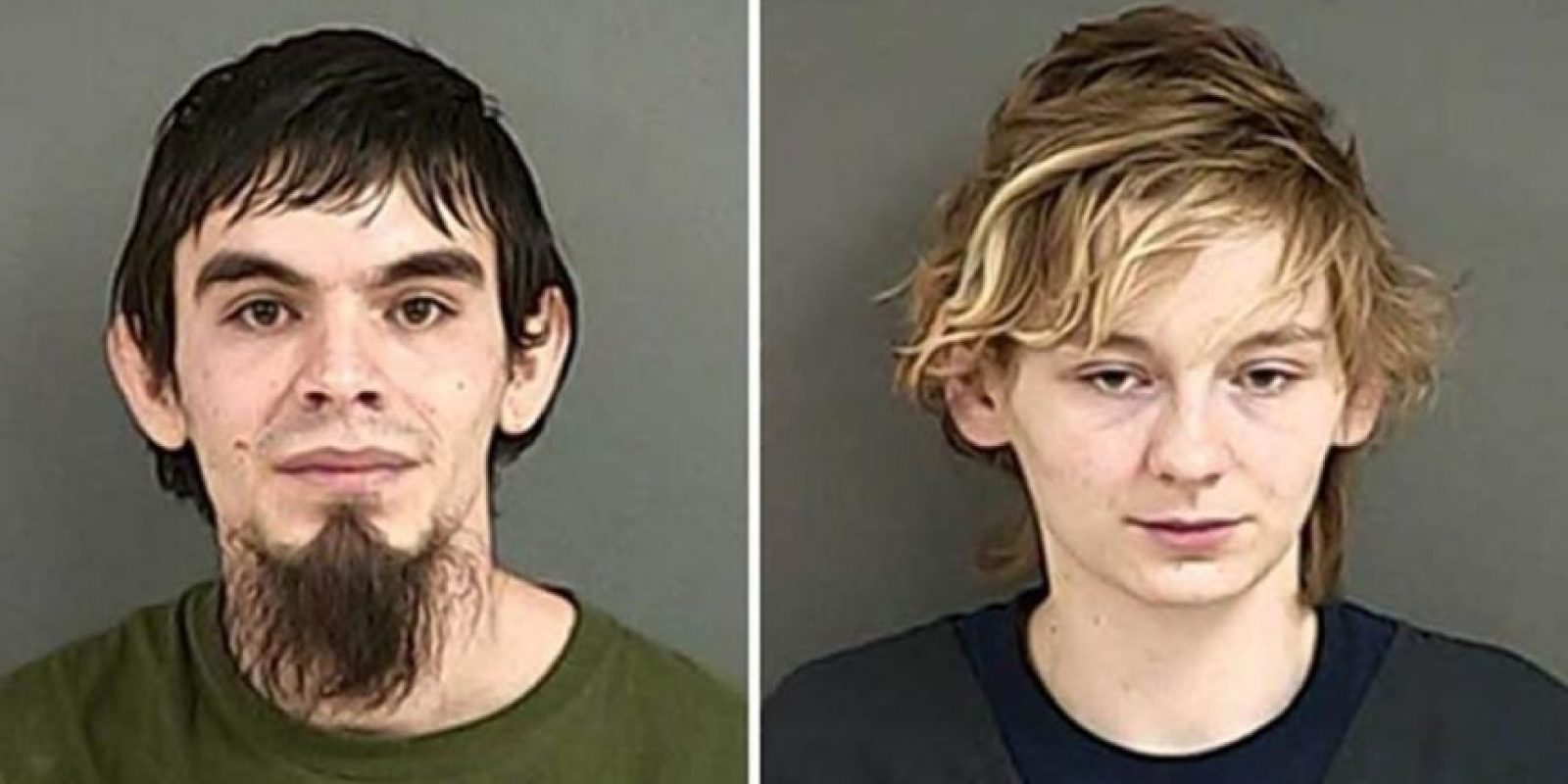 Stephen Williams y María Hancock fueron arrestados por homicidio al dejar morir de hambre al hijo de esta, de 7 semanas. Ella usaba su leche materna para videos porno de fetichismo. Foto:Policía de Douglas County