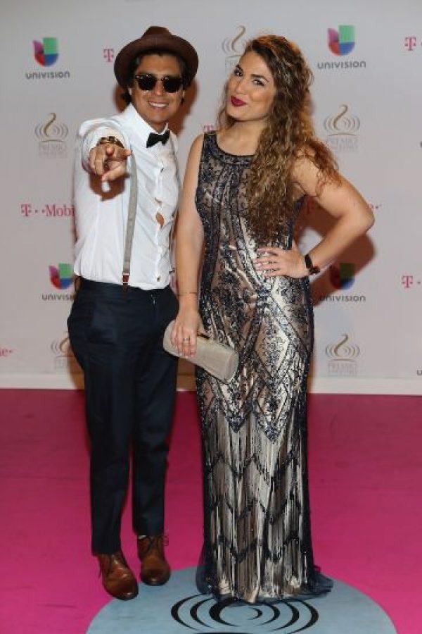 Periko y Jessie León Foto:Getty