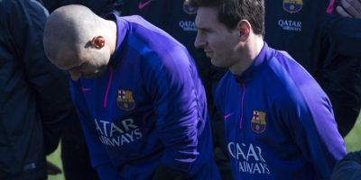 El Barcelona renombra su campo de entrenamiento en homenaje a Tito Vilanova Foto:AFP