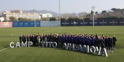 El Barcelona renombra su campo de prácticas en honor a Tito Vilanova