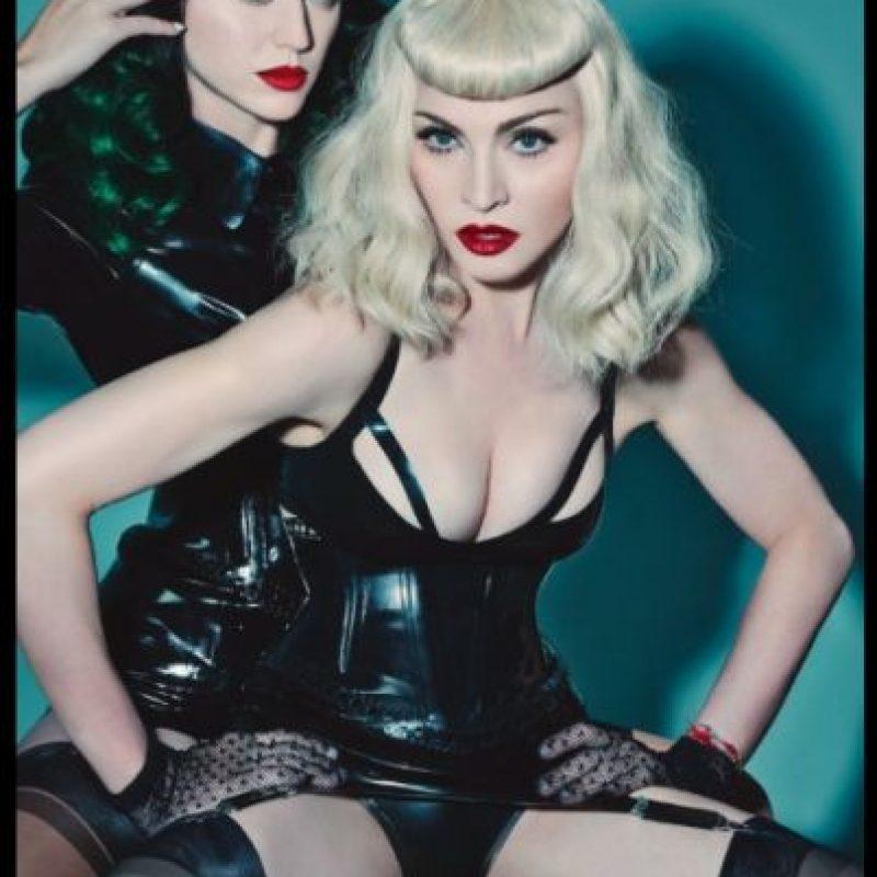 Con Photoshop Foto:Madonna.com