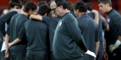 Así vive el argentino los partidos de fútbol Foto:Getty