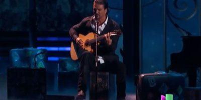 VIDEO. Así fue la presentación de Ricardo Arjona en Premios Lo Nuestro 2015