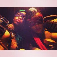 7.- Porque solo ella sabe como convertirse en una sensual tortuga ninja Foto:Instagram/badgalriri
