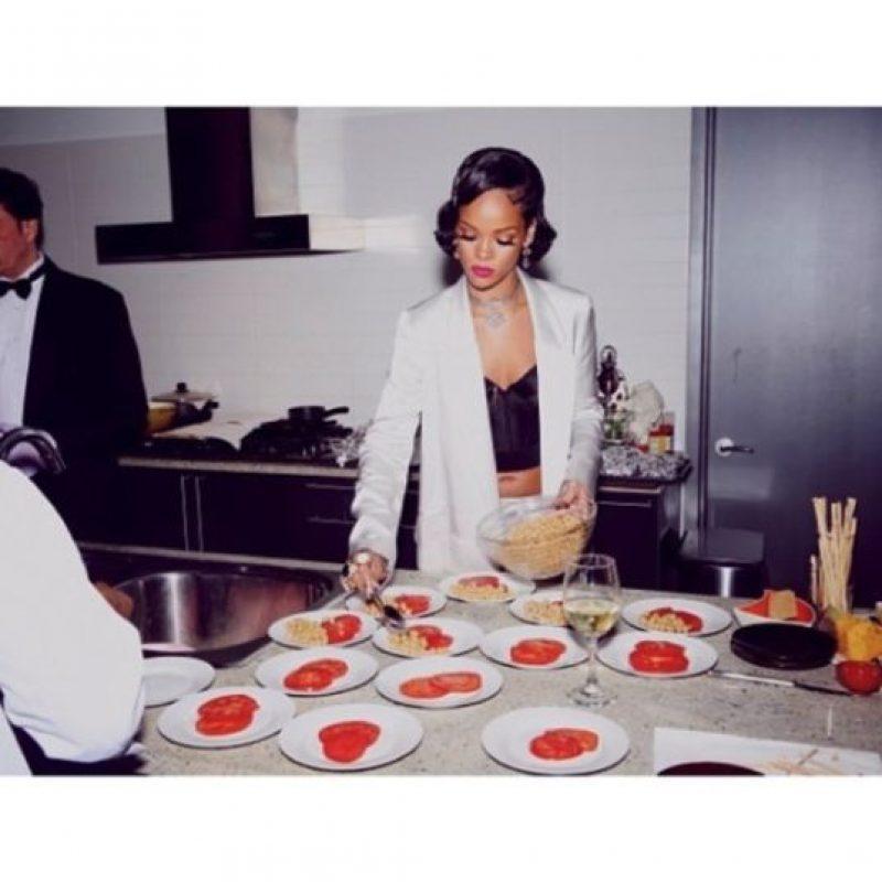 12.- Porque es talentosa en la comida así como en la música Foto:Instagram/badgalriri