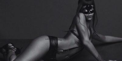 26.- Y sabe como desatar su sensualidad en un diminuto atuendo de cuero Foto:Instagram/badgalriri