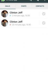 Los registros de llamadas realizadas y recibidas. Foto:Android Police