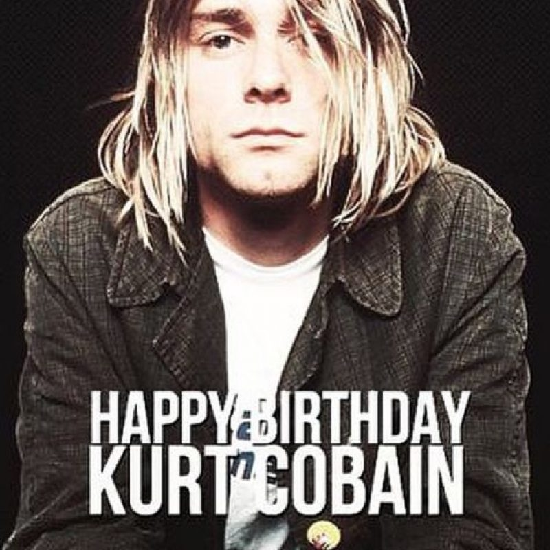 Este viernes se cumplen 48 años del nacimiento de Kurt Cobain. Foto:instagram.com/the_day_maker_