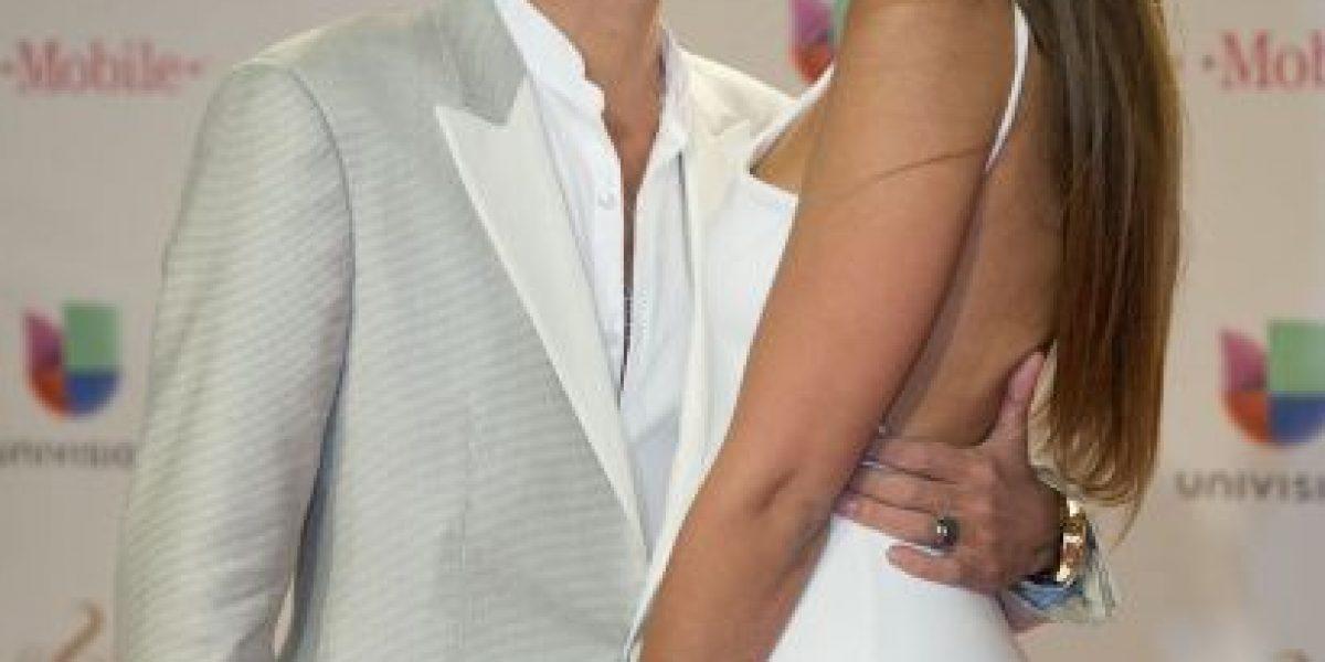 FOTO: Marc Anthony y Shannon de Lima derrochan amor en Premio Lo Nuestro