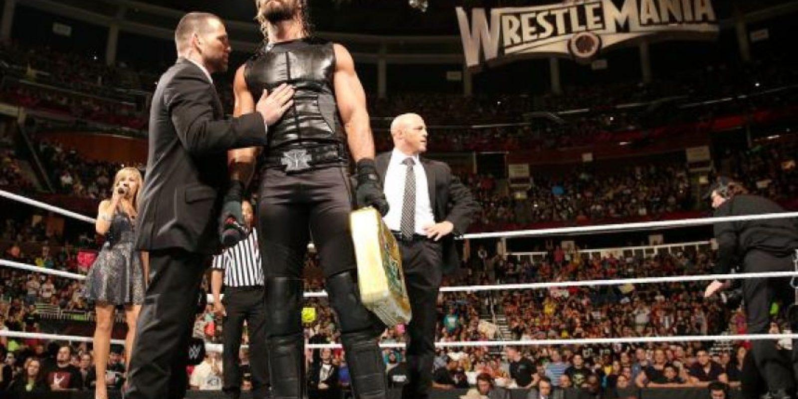 Seth Rollins cuenta con el Maletín de Dinero en el Banco que le garantiza una pelea por el título máximo de la empresa Foto:WWE