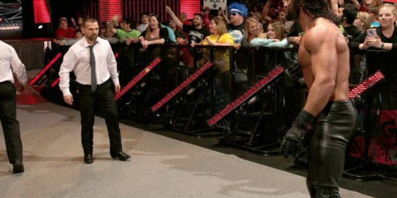 "El autonombrado ""Futuro de la WWE"" criticó a Jon Stewart Foto:WWE"