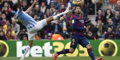 FOTOS. Málaga vence 1-0 a Barcelona en su casa