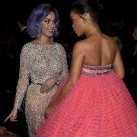 Acompañada de Rihanna Foto:Getty Images