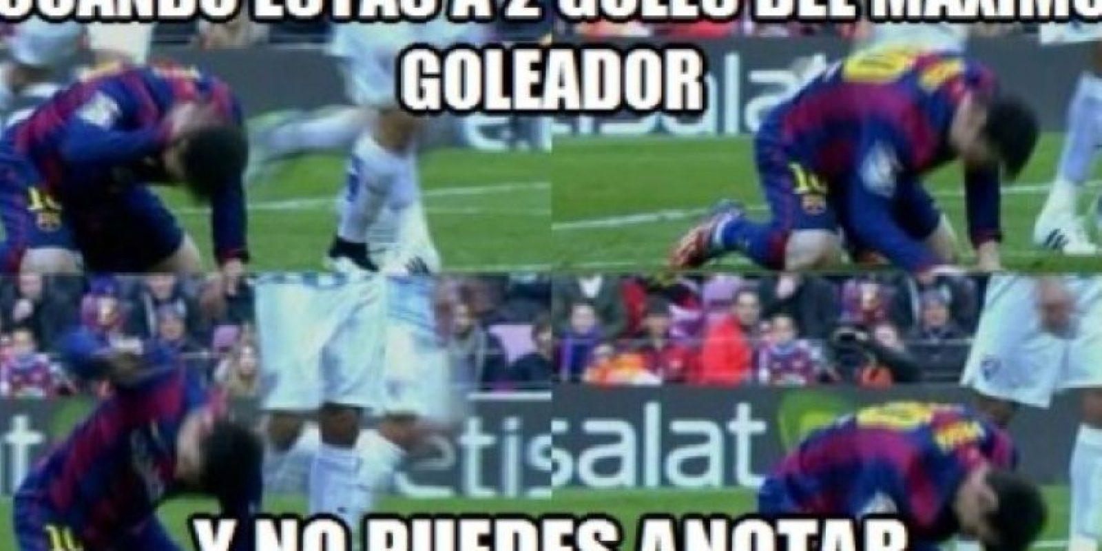 El berrinche de Messi no pasó inadvertido. Foto:Twitter